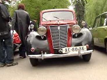 Setkání italských aut v Poděbradech
