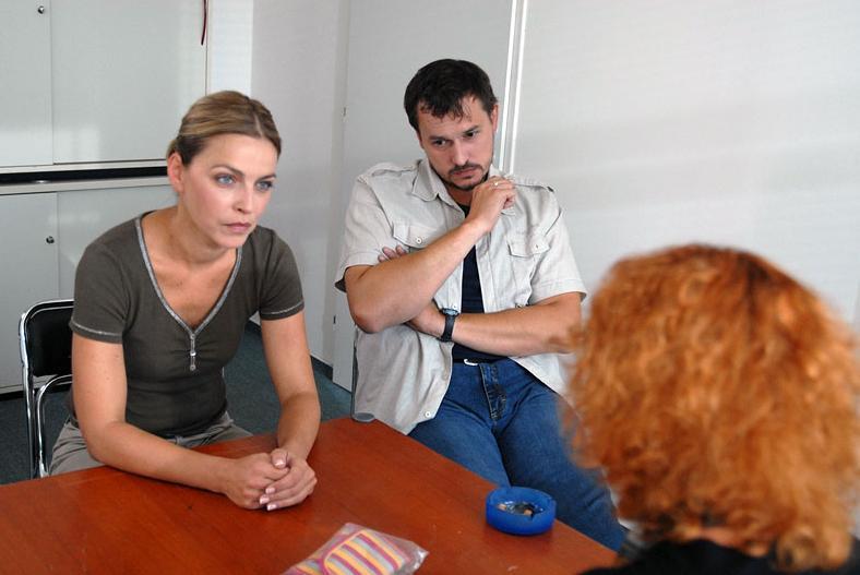 Lucie Zedníčková a Petr Štěpán jako vyšetřovatelé