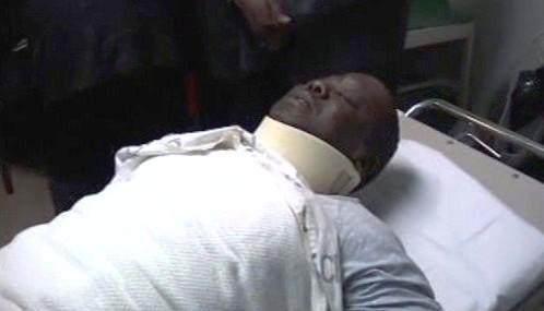 Morgan Tsvangirai po autonehodě