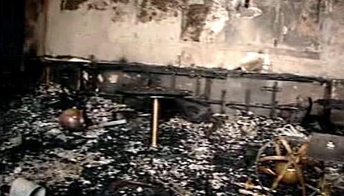 Hotel Tádž Mahal po útoku teroristů