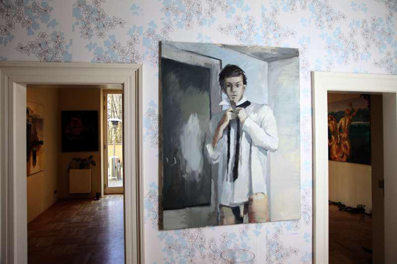 Václav Misař: Autoportrét