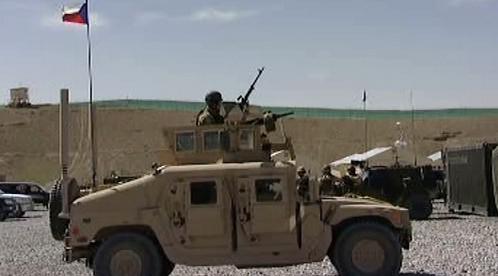 Armádní vozidlo