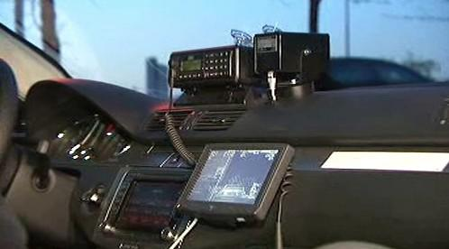 Vybavení policejního vozu