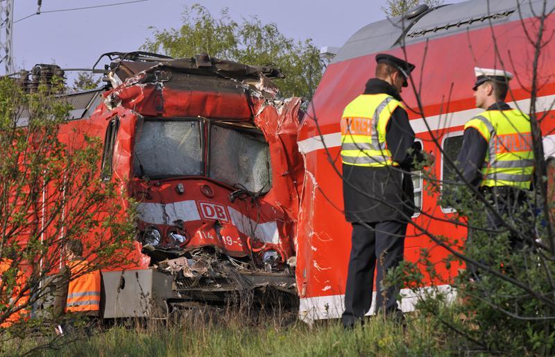 Srážka vlaků