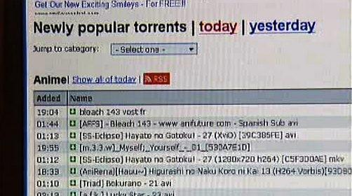 Nelegální stahování z internetu