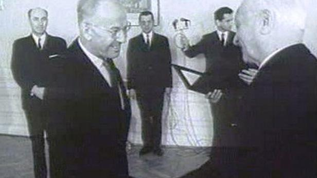Gustáv Husák s Ludvíkem Svobodou