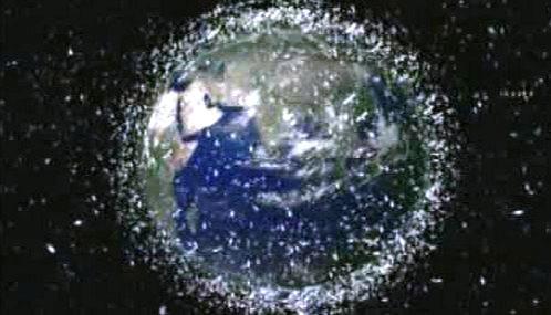 Přeplněná oběžná dráha Země
