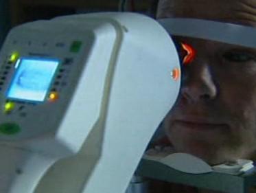 Prohlídka u očního lékaře