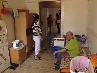 Obyvatelé ubytovny v Desné