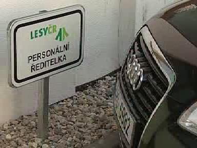 Nová limuzína pro manažery Lesů ČR