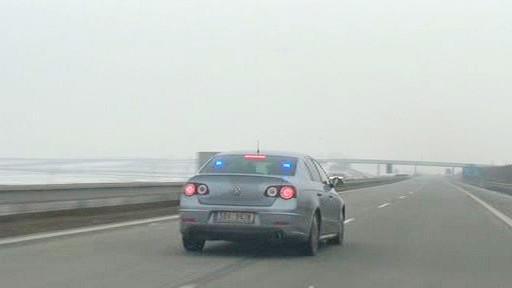Policejní Volkswagen Passat R36