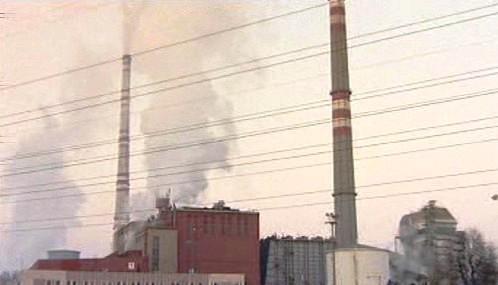 Požár v elektrárně Vojany