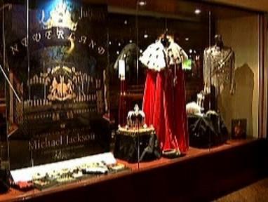 Výstava Jacksonových předmětů