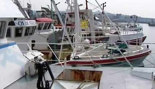 Protest francouzských rybářů