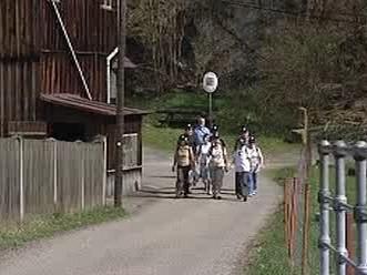 Skupina turistů