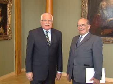 Václav Klaus a Otakar Motejl