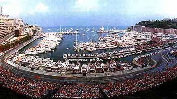 Městský okruh v Monaku