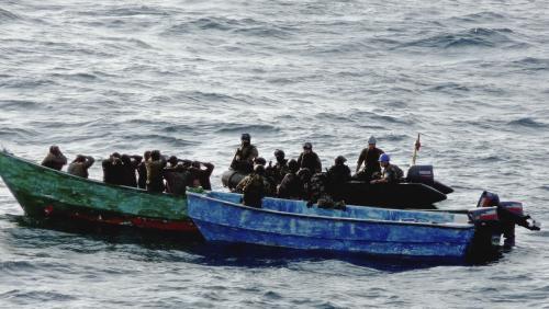 Piráti v konfrontaci s francouzskými vojsky