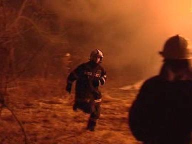 Hasiči zasahují u požáru