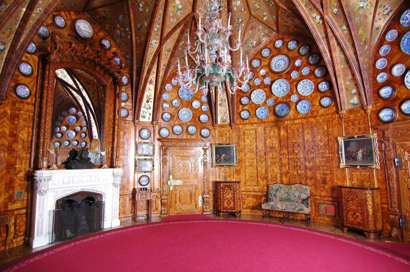 Interiér zámku Hluboká