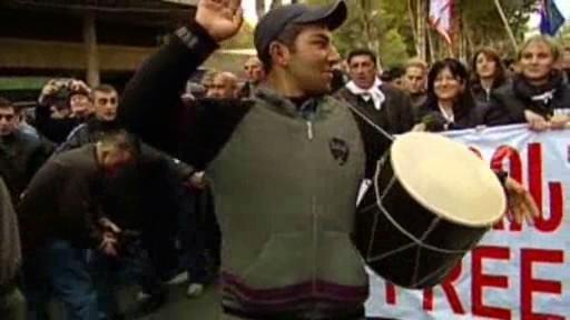 Protesty proti Saakašvilimu