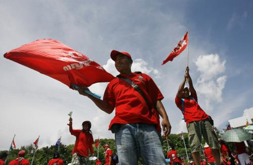 Thajští povstalci