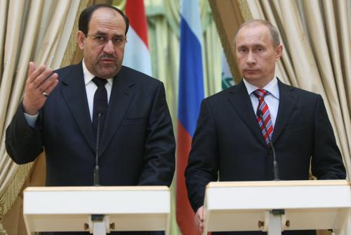 Núrí Málikí a Vladimir Putin