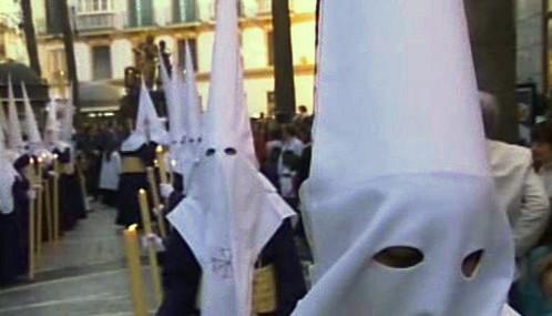 Náboženské procesí ve Španělsku