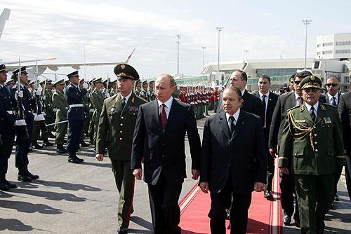 Putin s Buteflikou