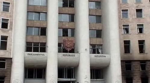Moldavský parlament