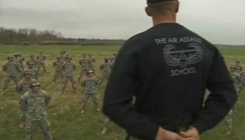 Základna výsadkářů ve Fort Campbellu