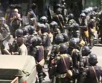 Gruzínská policie