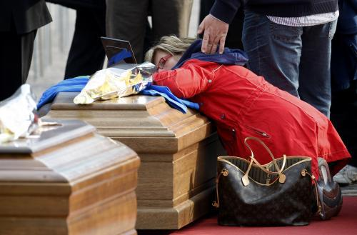 Itálie se loučí s oběťmi zemětřesení