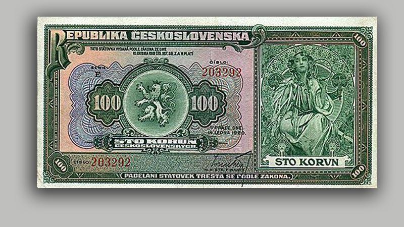 Československá stokoruna