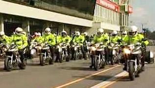 policejní motorky