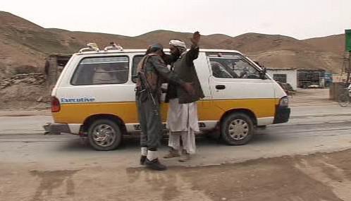 Afghánská policie v akci