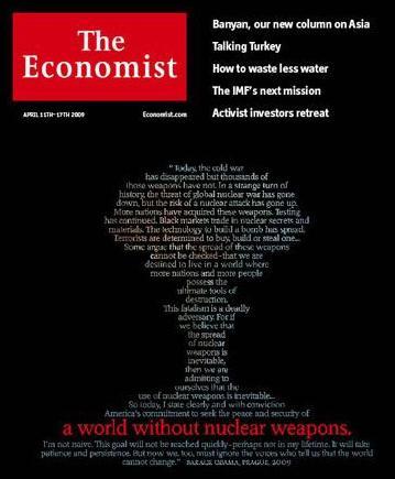 Nejnovější vydání The Economist