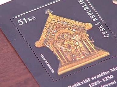 Svatý Maur na známce
