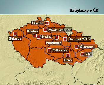 Babyboxy v Česku