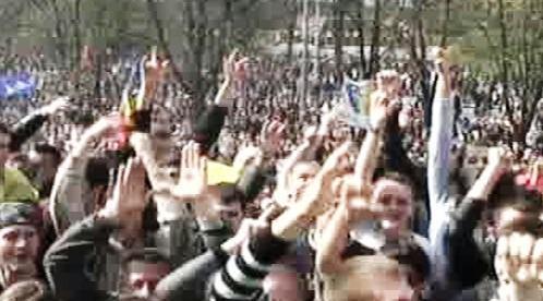 Protesty v Moldavsku