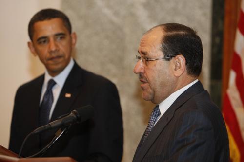 Barack Obama a Núrí Málikí
