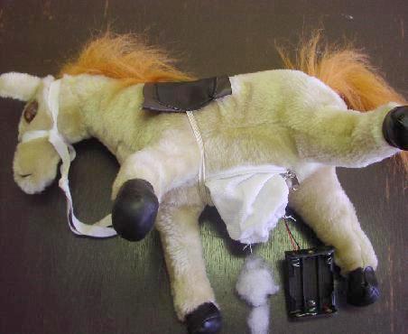 Plyšový kůň