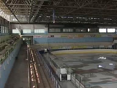 Hokejový stadion v Milevsku