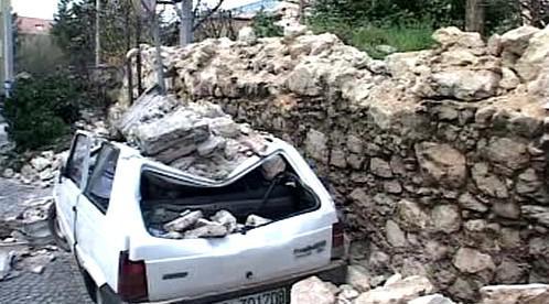 Následky zemětřesení v Itálii