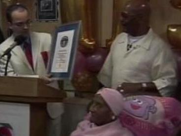 Gertrude Bainesová slaví 115. narozeniny