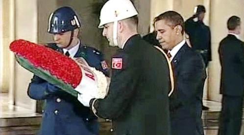 Barack Obama na návštěvě Turecka