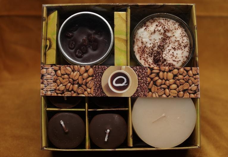Kávové svíčky