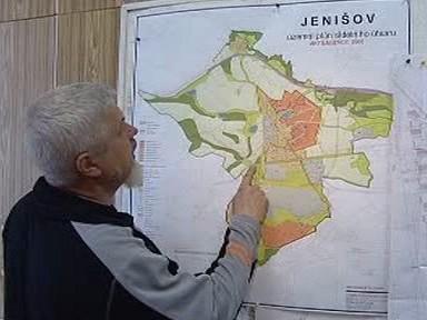 Starosta obce Jenišov Ivan Truksa