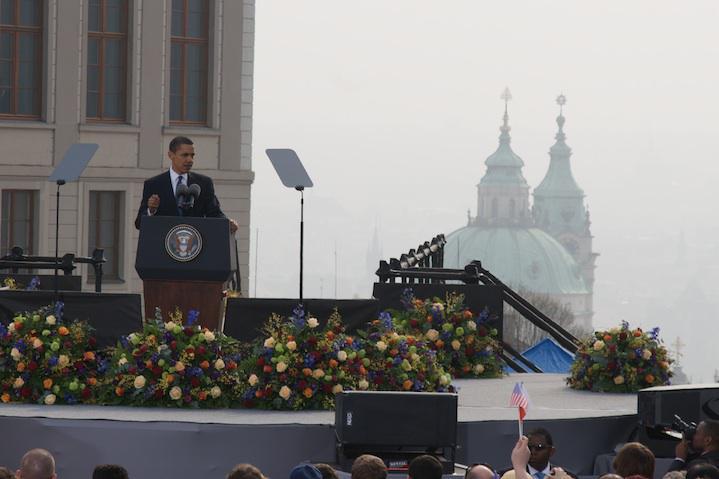 Projev na Hradčanech