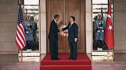 Barack Obama a Abdullah Gül
